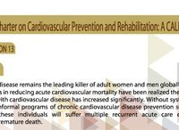 International Charter on Cardiovascular Prevention and Rehabilitation: A Call for Action